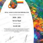 Member of Opal Association of Australia